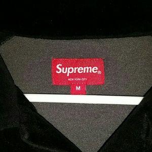 Supreme Shirts - Supreme raglan l/s polo